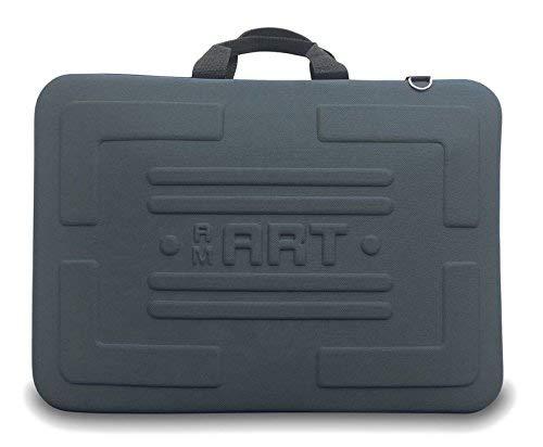Artcare 15221090 - Borsa in Materiale Sintetico, 51 x 5,5 x 37,5 cm, Formato A3, AM Art, Nero
