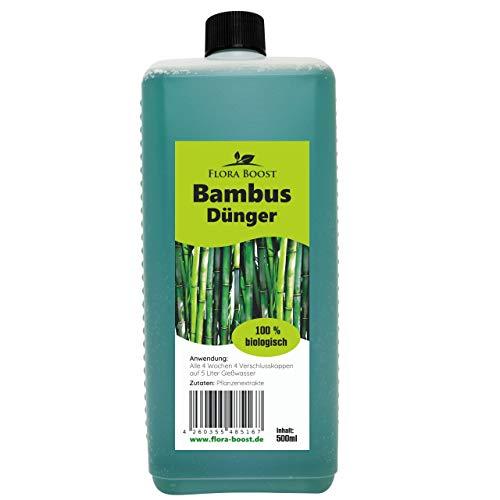 Bambusdünger flüssig - Bambus Dünger Flüssigdünger - Bis zu 100 Liter Gießwasser (500 ml)