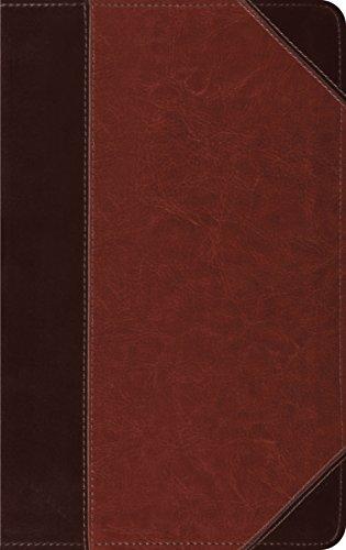ESV Thinline Bible (TruTone, Brown/Cordovan, Portfolio Design)