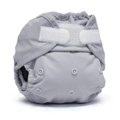 Rumparooz One Size Cloth Diaper Cover Aplix, Platinum