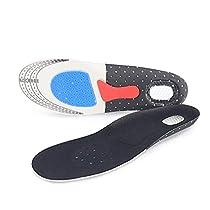 インソール 中敷き 衝撃吸収 土踏まず 靴クッション 3Dデザイン 低反...