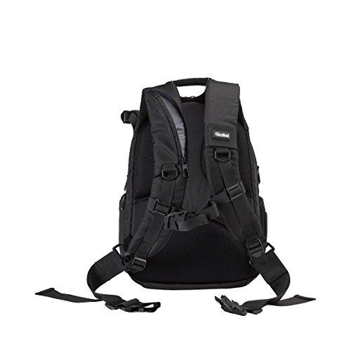 Rollei Outdoor Camera Bagpack - Mochila para cámara (35 L, de Exteriores, protección contra la Lluvia) Color Negro