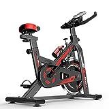WOERD Spinning Bike Indoor Bicicletas Spinning Bicicleta Estatica Spinning Bicicleta Profesional para Uso Domestico con Monitor, Bicicleta Fitness hasta 150 Kg, Rueda de Inercia de 6kg