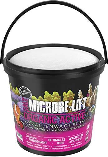 MICROBE-LIFT Organic Active - Meersalz für farbenprächtige Korallen und verbessertes Wachstum, 10 kg