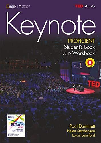 Keynote - C2.1/C2.2: Proficient: Student's Book and Workbook (Combo Split Edition B) + DVD-ROM - Unit 7-12