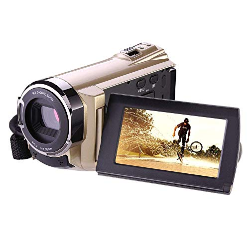 HAUSBELL Video Camera Camcorder Digital Camcorder HD Camcorder with WiFi Video Recorder Digital Video Camera 1920x1080P Digital Zoom Camera Recorder HDV-5052 with Infrared Night Vision HDMI Output