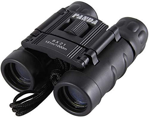 IF.HLMF Binoculares para Adultos y niños, visión Nocturna con Poca luz, binoculares de Enfoque fácil, Lente FMC de Prisma BAK-4, Ocular Grande de 21 mm, para observación de Aves, Caza, Impermeable