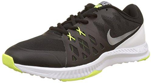Tênis Nike Air Epic Speed TR II Cross masculino, Black/Metallic Cool Grey/White/Volt, 11