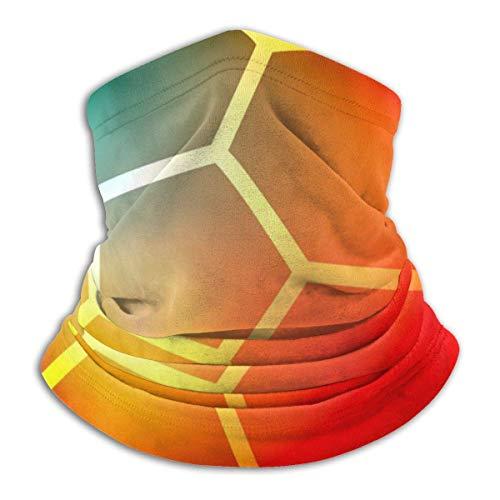 Niet toepassbare gloeiende voetbal hoofdband gezichtsmasker bandana hoofdwikkel sjaal hals warmer hoofddeksel bivakmuts voor sport
