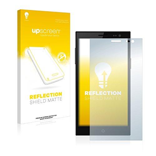 upscreen Entspiegelungs-Schutzfolie kompatibel mit Simvalley Mobile SPX-34 – Anti-Reflex Bildschirmschutz-Folie Matt