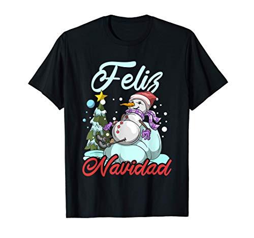 Regalo De Muñeco De Nieve Familiar De Pijamas Feliz Navidad Camiseta