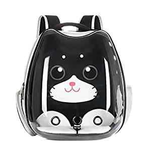 Cat Backpack Carrier Bubble Carrying Bag, Small Dog Backpack Carrier for Small Medium Dogs Cats, Space Capsule Pet Carrier Dog Hiking Backpack, Airline Approved Travel Carrier