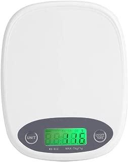 MILAIDI Digital Kitchen Scale Baking Backlight 7Kg 1G Said Electronic Platform
