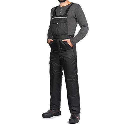 Mazalat Werkbroek, mannen, gevoerd, winddicht en waterdicht, thermische broek, werkbroek