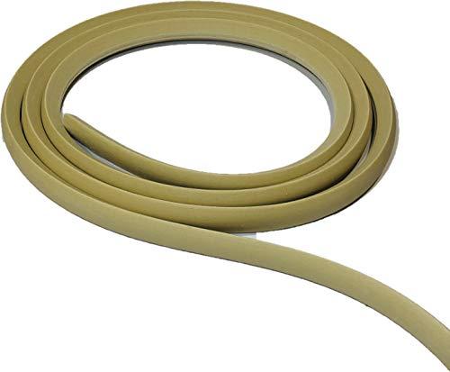 """FLEXTRIM #WM126-OAK Grain: 1/2"""" x 3/4"""" Flexible Base Shoe molding - 12' feet Long - Oak Grain Texture"""