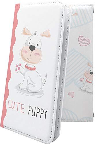 スマートフォンケース・ZenFone5Q ZC600KL・互換 ケース 手帳型 犬 いぬ 犬柄 動物 動物柄 アニマル どうぶつ ゼンフォン5q ゼンフォン5 手帳型スマートフォンケース・キャラクター キャラ キャラスマートフォンケース・zenfone 5q 5 q かわいい 可愛い kawaii lively [r6g31372zEB]