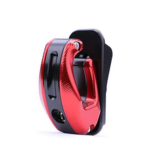 NIU NGT NQi-Series NQiGT Elektroroller Lagergewicht 50kg, CNC-Haken (Rot schwarz rot)