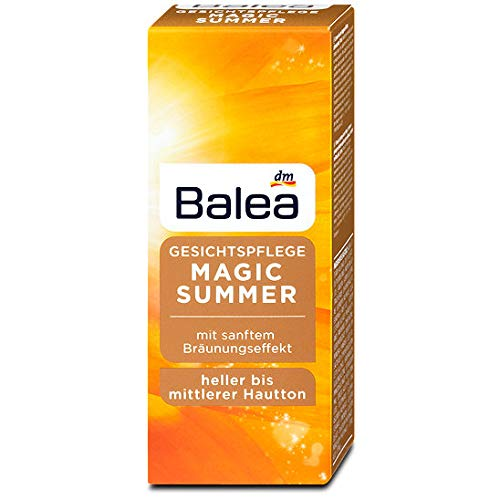 Balea Tagespflege Magic Summer heller bis mittlerer Hautton, 50 ml