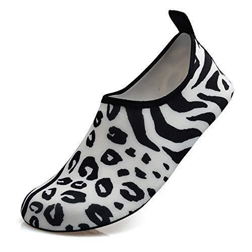Aerlan Kayak Zapatos de Agua,Escarpines de Playa,Zapatos de natación Pareja río río Arriba Zapatos de vadeo Zapatos de Yoga de Playa-B_44/45