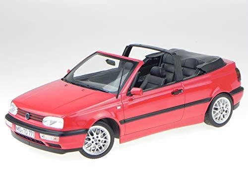Norev VW Golf 3 Cabrio 1995 rot Modellauto 188433 1:18