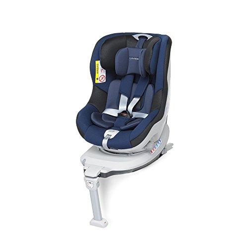 Foppapedretti Rolling Fix Seggiolino Auto Gruppo 0+/1 (0-18 Kg) per Bambini dalla Nascita Fino a 4 Anni Circa, Oceano