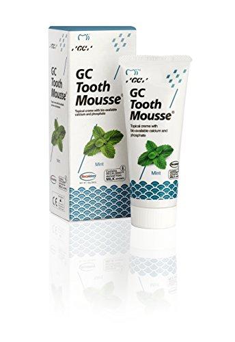 Mousse dental de menta (cuidado personal)