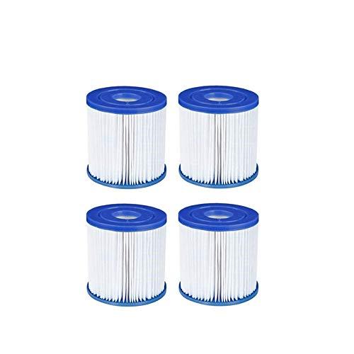 XUNGENG - Filtro de piscina tipo I, para Bestway 58093, filtro de cartucho, repuesto para filtro de spa, filtro de cartucho, accesorios para la limpieza de la piscina (4 unidades)