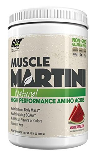 GAT Muscle Martini Natural Watermelon Supplement