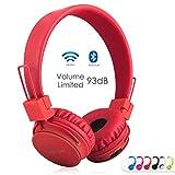 Termichy Bluetooth Stéréo Pliable on-Ear Casques, sans Fil/Filaire À Double...