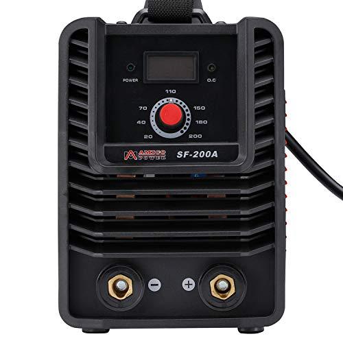 SF-200 Amp Stick ARC DC Inverter Welder, IGBT Digital Display LCD 120V & 240V Dual Voltage Welding