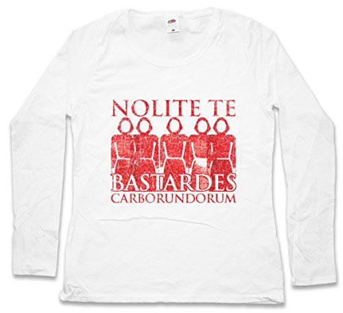 Urban Backwoods Nolite Te Bastardes Carborundorum Women T-Shirt Mujer Camiseta de Manga Larga