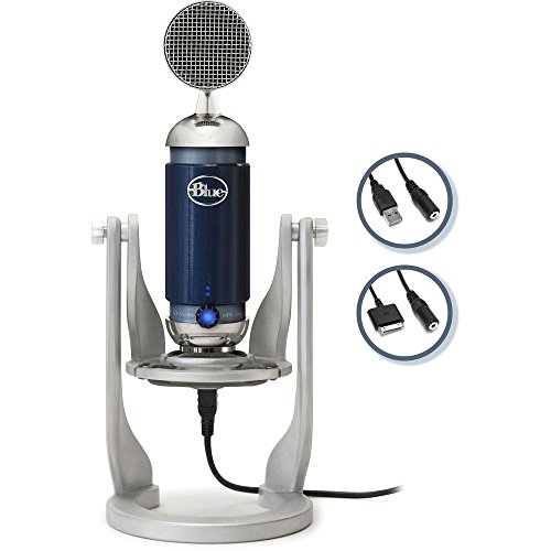 Blue Spark Digital studio condenser mic with usb for iOS, MAC and PC