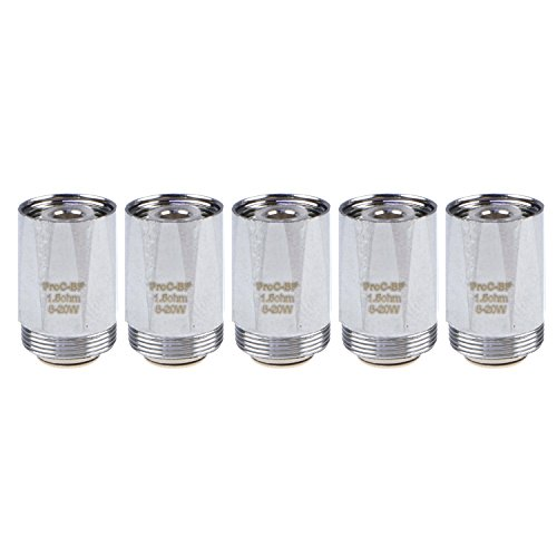 Joyetech ProC-BF Clapton Coils (1,5 Ohm), Riccardo Verdampferköpfe für e-Zigarette, 5 Stück