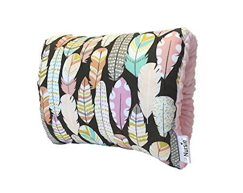 The Nursie Slip-on Breastfeeding Arm Pillow | Nursing Pillow | Baby Shower Gift | Arm Cusion for Breastfeeding or Bottle Feeding| Best Nursing Pillow | Travel Breastfeeding Pillow (Lucky Southern)