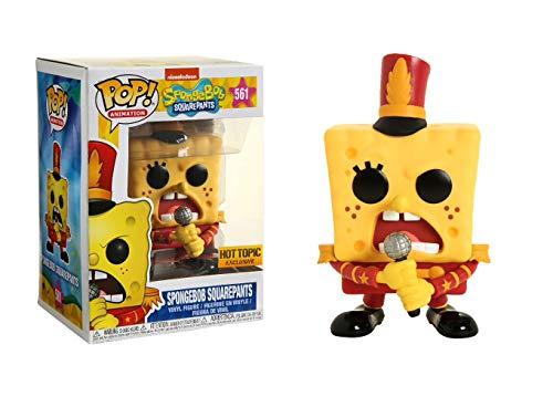 Funko Pop! Animation: Sponge Bob - Figurilla de Vinilo de Bob Esponja