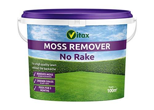 Vitax Moss Remover (No Rake) - 100m2 Tub