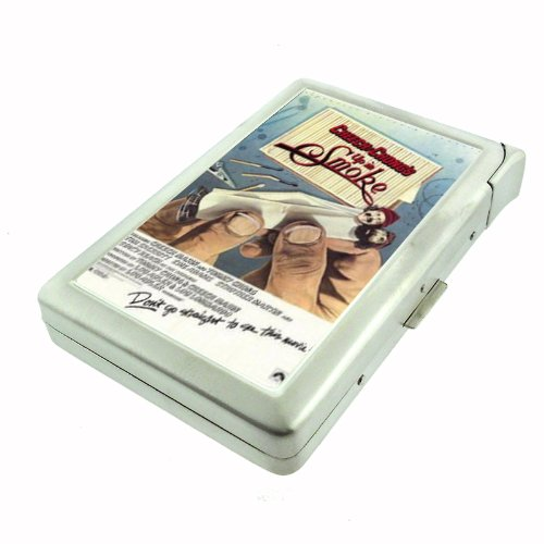 Cheech & Chong Up In Smoke Double-Sided Cigarette Case with lighter, ID Holder, and Wallet D-064