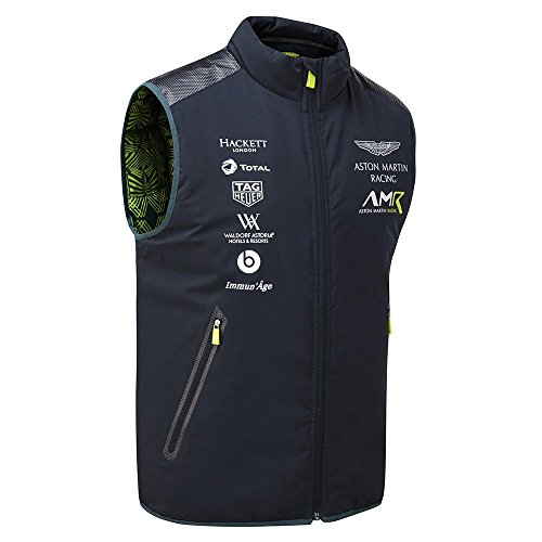 Aston Martin Racing Team Weste, Herren, blau, Small