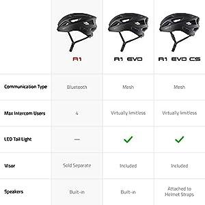 Sena Adult Smart Cycling Helmet (Electric Tangerine, Medium)