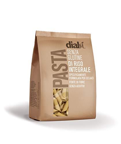 Dialsì Penne Pasta senza Glutine di Riso Integrale - 400 g