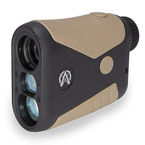 ASTRA OPTIX OTX2400B 6x21 2400yd Laser rangefinder for Hunting, Shooting and Golf with Red OLED Display Fast 0.1s and Accurate +/-1 yd. Range Finder with Ballistics