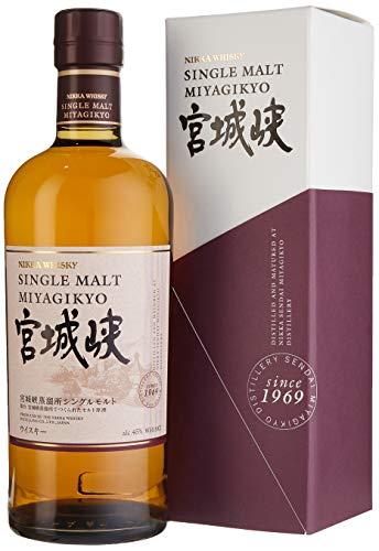Nikka Miyagikyo Single Malt Whisky mit Geschenkverpackung (1 x 0,7l)