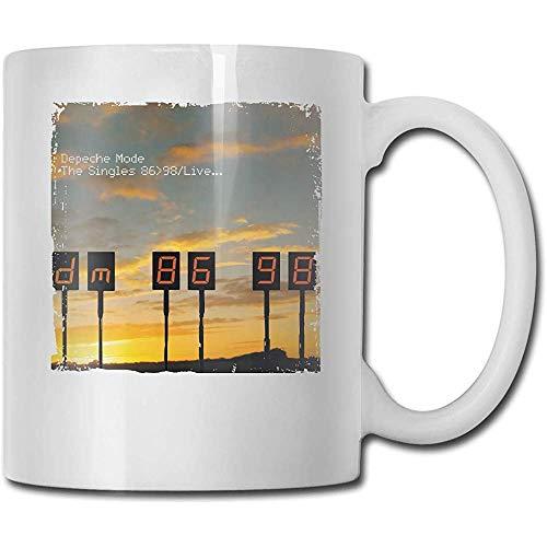 Depeche Mode Die Singles 86-98 Lustige Keramik Tee Tasse Kaffeetasse Milch Tasse Brithday Geschenk Souvenir Tasse