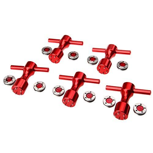MUXSAM 1pc Rot Golf Putter Gewichte Schlüssel Werkzeug für Titleist Scotty Cameron 5/10/15/20/25g - 20g