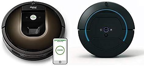 iRobot Bundle Roomba 980 Vacuum Cleaning Robot and Scooba 450 Hard Surface Scrubbing Robot