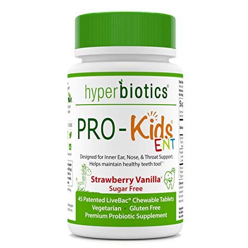 PRO-Kids ENT: Children's Oral Probiotics (Chewable & Sugar Free) -...