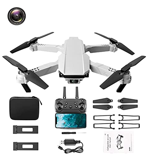 JJDSN Cámara granangular del abejón 4k HD, helicóptero de la cámara del abejón de la Altura de Quadcopter de...