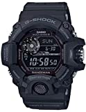 Casio Tactical Rangeman G-Shock Solar Atomic Watch, Black/Black, GW9400-1B