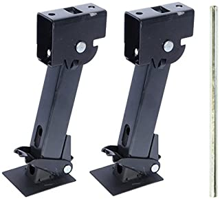 Pair of Telescoping Trailer Stabilizer Jacks(1000lb capacity each)
