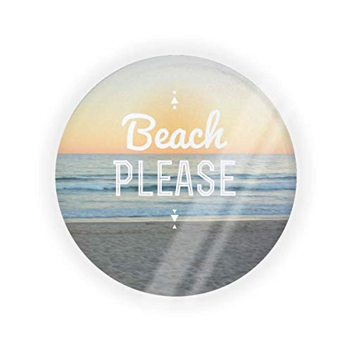 Beach Please Empty Air Cushion Puff Box Cojín Pacto Cosmético Maquillaje Estuche BB CC líquido crema base Contenedor